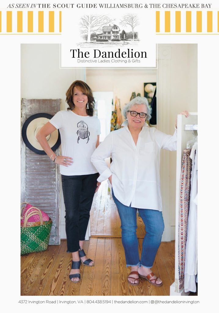 Sheila Brown and Jeannie Smith of The Dandelion are in the new Scout Guide Magazine!